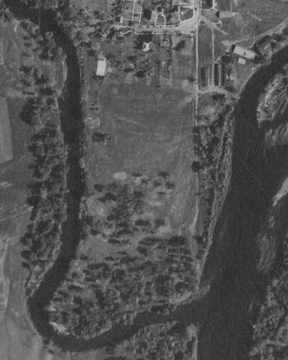 Aerial view, 1939.